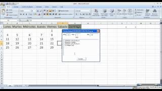 Crear Calendarios Con Excel Macros Y Plantillas Generar