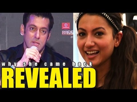 REVEALED | Why Gauhar Khan came Back in the house in Salman Khan's reality show