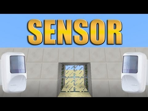 Porta com sensor de presença - Minecraft Tutorial 41