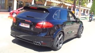 Porsche Cayenne Turbo Gemballa Biturbo 958 - START Up Sound + Acceleration Exhaust 2012 Modell V8 videos