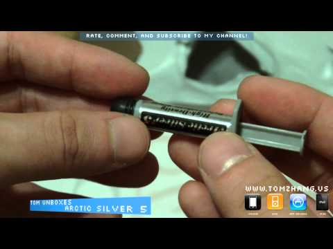 Unboxing Arctic Silver 5 Thermal Cooling Paste Compound, The Best on the Market HD