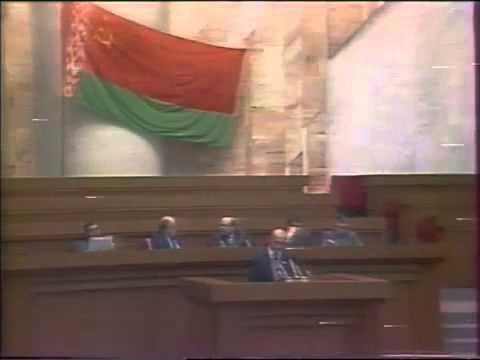 Зянон Пазьняк пра Чарнобыльскі генацыд (1991)