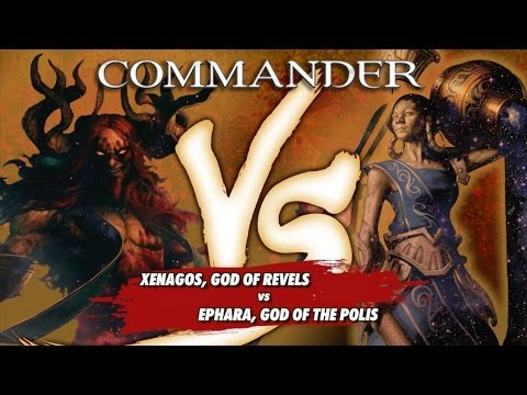 Commander Versus Series: Xenagos (David McDarby) vs. Ephara (Danny West)