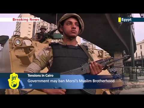 Tensions in Cairo: Security tight at al-Fattah mosque in Cairo