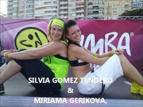 PRESENTERS FOR THE ZUMBA COSTA BLANCA AKIRA ZUMBATHON 15.9.15