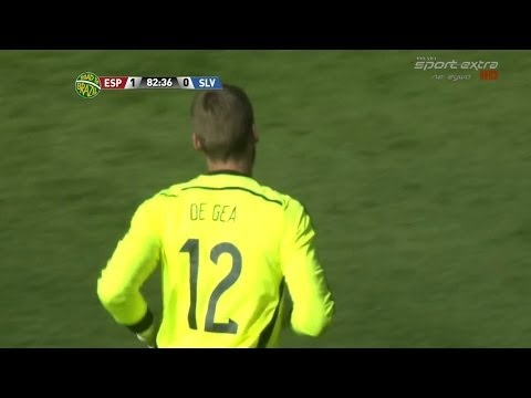 David De Gea Vs. El Salvador (Spain Debut) 13-14 [Neutral] [HD 720p]