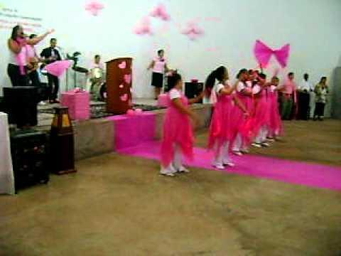 1º Culto Rosa - Ituiutaba- MG - Igreja do Evangelho Quadrangular