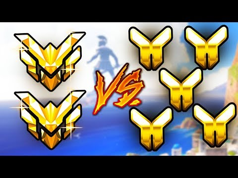 2 Masters VS 5 Golds - Who Will Win? (UNREAL GAME) - Overwatch VS