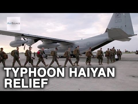 Typhoon Haiyan - U.S. 3rd Marine to Provide Humanitarian Assistance to Philippines
