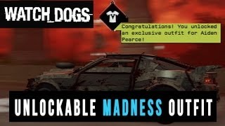 """Watch Dogs Tutorial """"How To Unlock Madness Outfit"""