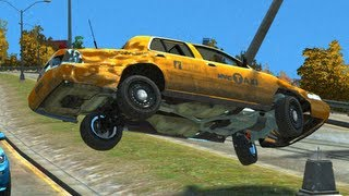 GTA 4 CRASH CARS MOD COMPILATION 4 CCC4
