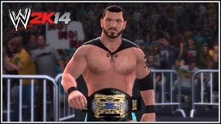 WWE 2K14 How To Make The TNA X-Division Championship