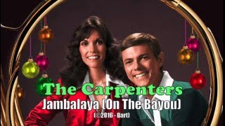 The Carpenters - Jambalaya (karaoke)