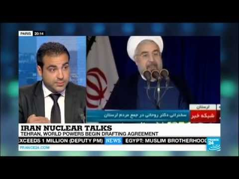 Milad Jokar - Iran nuclear talks in Vienna - 18 June 2014