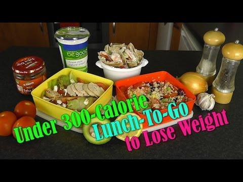 Under 300 Calorie Lunch-To-Go to Lose Weight