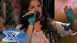 "Khaya Cohen Is On The ""Borderline"" THE X FACTOR USA 2013"