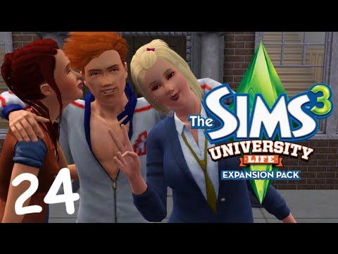 Let's Play: The Sims 3 University Life - (Part 24) - Mascot Training, → The Sims 3 University Life Gameplay: The gang takes their last block of finals and Sofia gets trained in the art of being a mascot. → Get a text EVERY 7TIME...