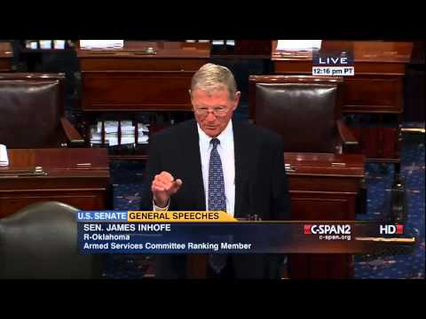 SEN. James Inhofe on Afghan Elections 07/08/2014