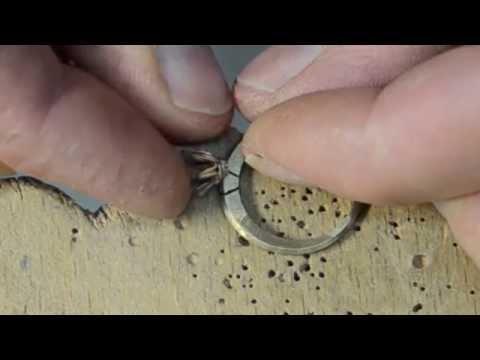 Chế tạo nhẫn kim cương bằng vàng 18k