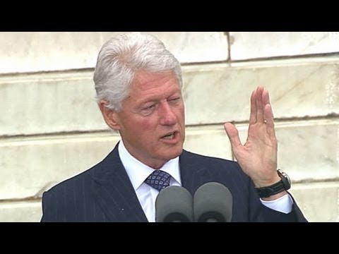 Bill Clinton on Martin Luther King's Ability to Move Millions