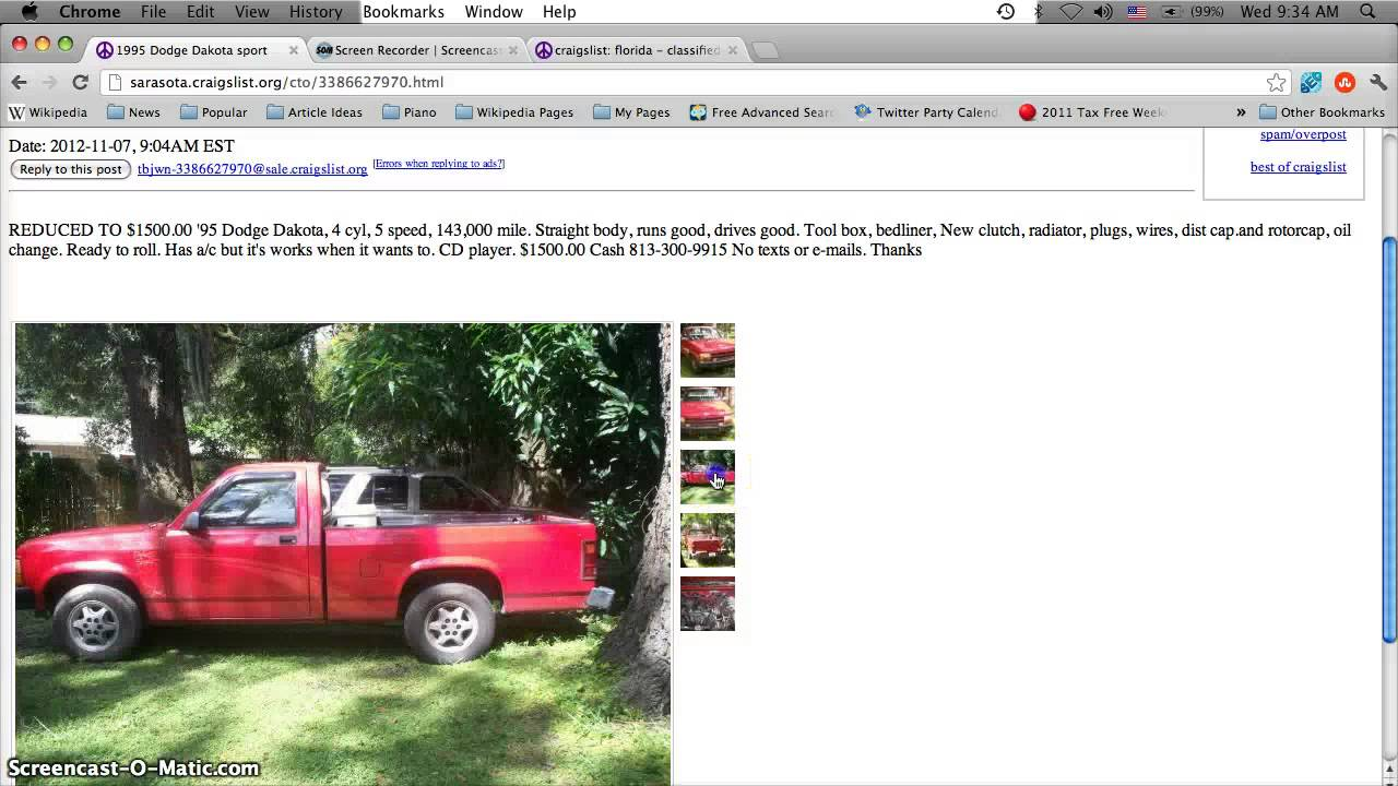 Craigslist Florida Ft Myers Cars