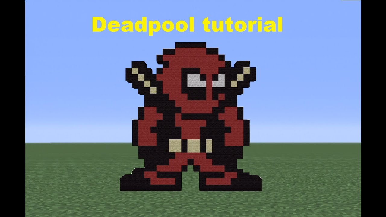Displaying 19> Images For - Minecraft Pixel Art Super Heroes...