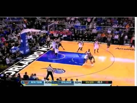 New York Knicks vs Orlando Magic Highlights February 21, 2014