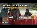 Indonesians vote in Jakarta governor election
