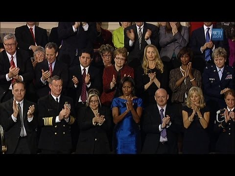 First Lady's Box at the 2012 State of the Union