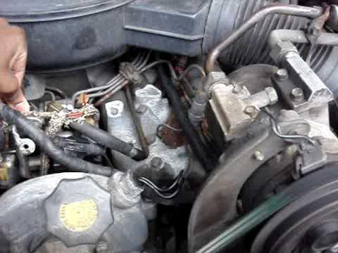 7 3l Idi International Diesel Cold Starting Youtube