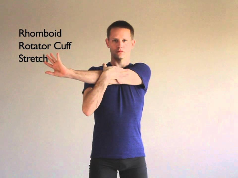Rhomboid/ Rotator Cuff/ Trapezius Stretch - Active ...