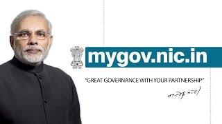 """मोदी सरकार के 60 दिन पूरे होने """"mygov"""" वेबसाइट लांच"""