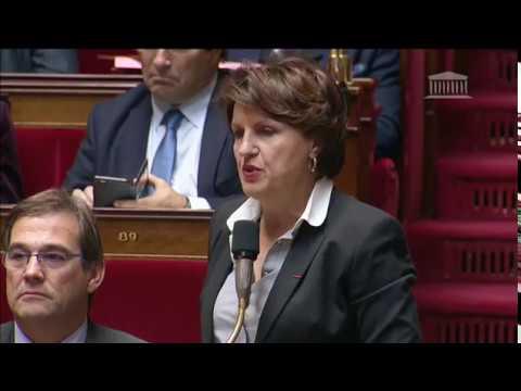 Mme Annie Genevard - Statut juridique de la langue française