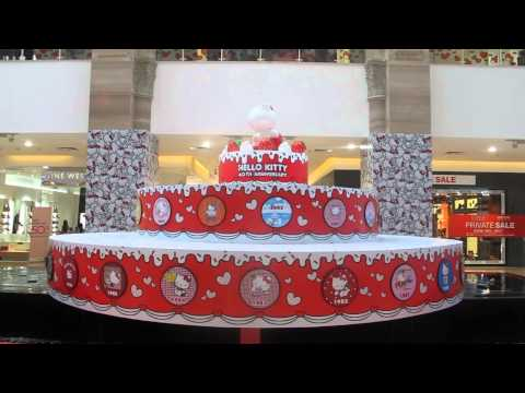 Hello Kitty 40th Anniversary: Hộp nhạc xoay Hello Kitty / Hello Kitty rotating music box