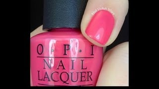 Swatches OPI Nail Polish Color Latest New Collections