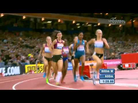 Ajee Wilson wins 800m in Glasgow - Universal Sports