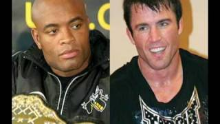 Anderson Spider Silva Vs Chael Sonnen É Pra Rir Muito UFC