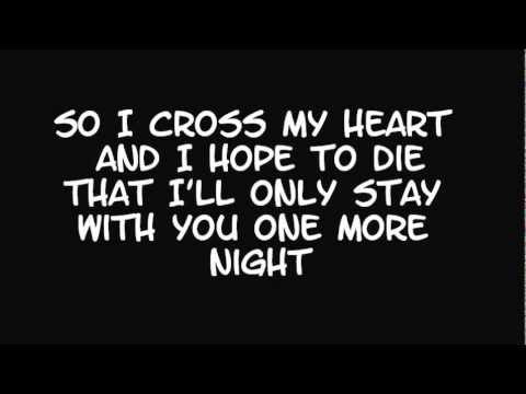 Maroon 5 - One More Night - Lyrics - YouTube