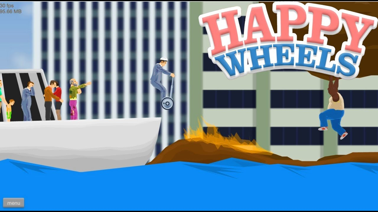 happy wheels browser game