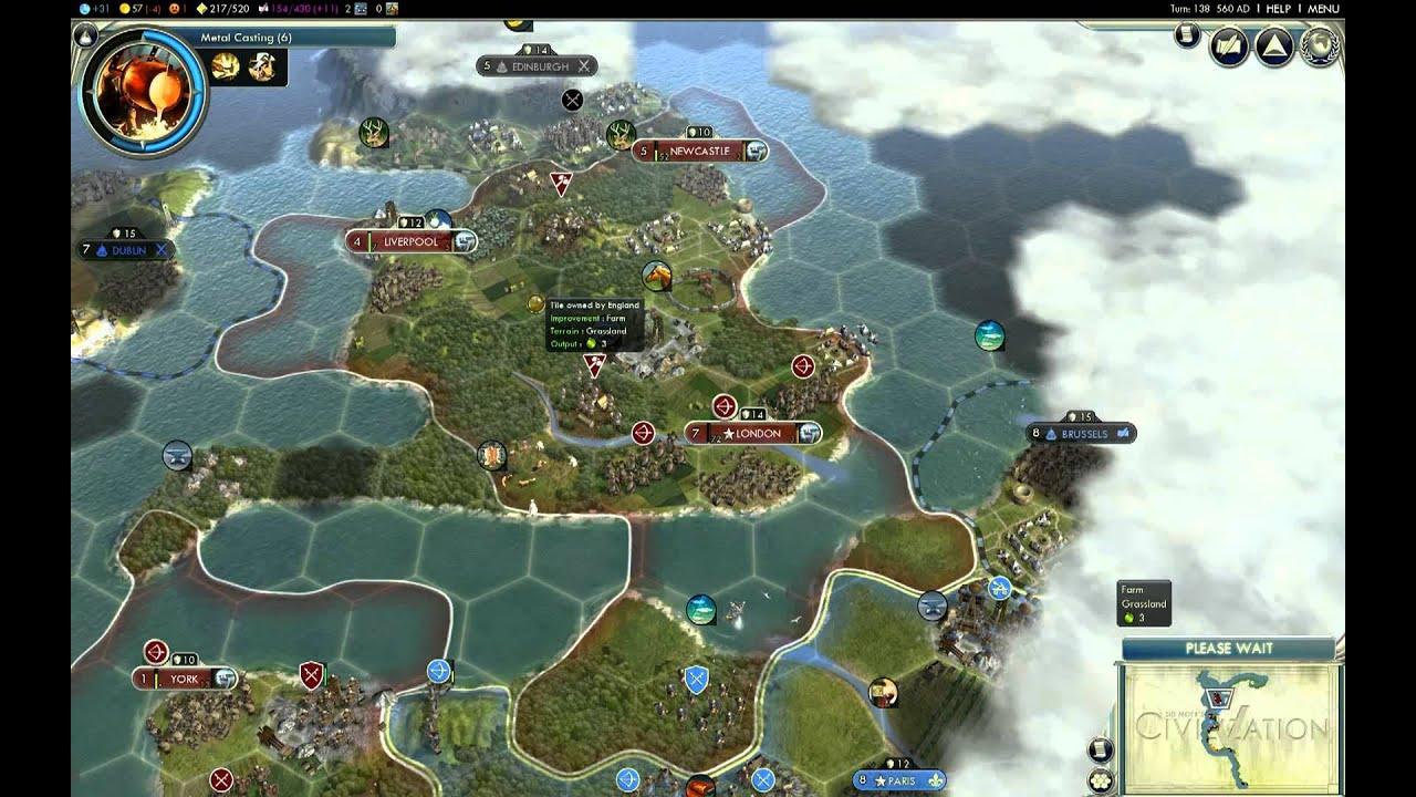 how to play custom maps civ 5