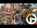 Smeagol e Davy Jones na loucura Overwatch ranked