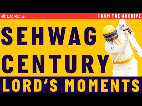 Highlights: Sehwag hits a century for MCC