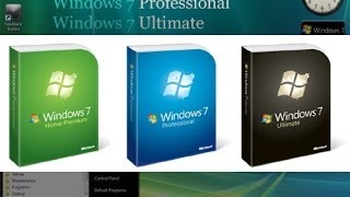 Descarga Windows 7 Ultimate, Profecional Y Home Premium 32