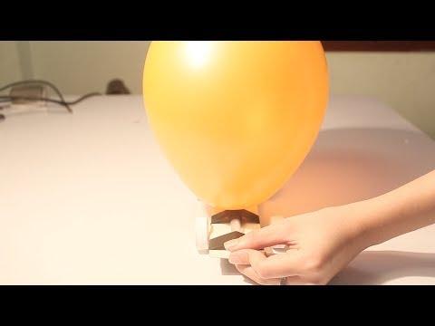Đồ chơi trẻ em : Cách làm xe hơi chạy bằng bóng bay