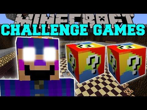 Minecraft: BALLOON GIRL CHALLENGE GAMES - Lucky Block Mod - Modded Mini-Game