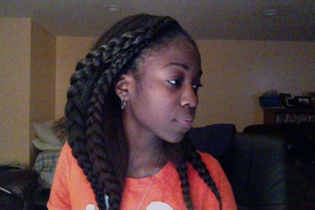 Kanekalon Crochet Cobra Braids 2 - YouTube