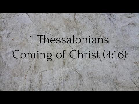 New Testament Survey - 1 Thessalonians