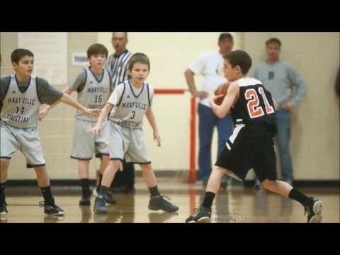 Jamey Wright (age 9) highlights 2013 basketball season