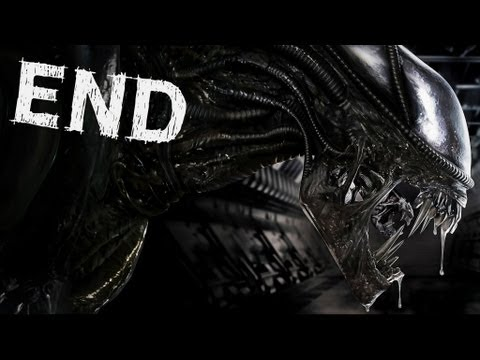 Aliens Colonial Marines - Ending / Queen Final Boss - Gameplay Walkthrough Part 10