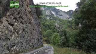 Roadbook moto Aude : Les Gorges de Saint Georges